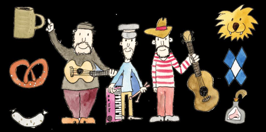 DBavaresi - Kellner - Schellinger - Horn - Comic Band